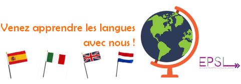 bannière langues