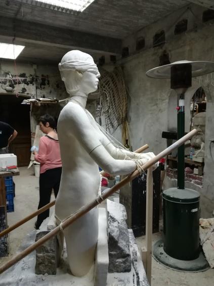 Sculpture - Travaux d'élèves